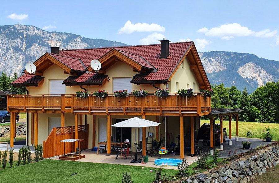berghaus edelhirsch en de villacher alpenstrasse